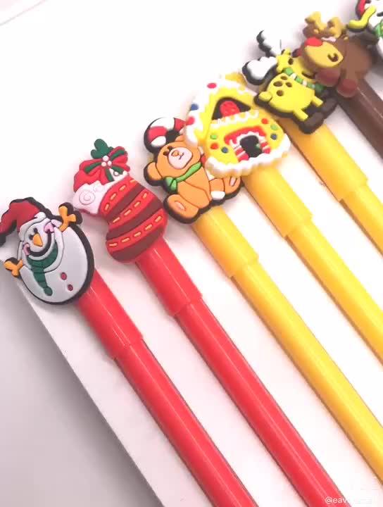 Sevimli kalem lapiceros kawaii karikatür kalemler canetas fofas boligrafos personalizados silikon kalem