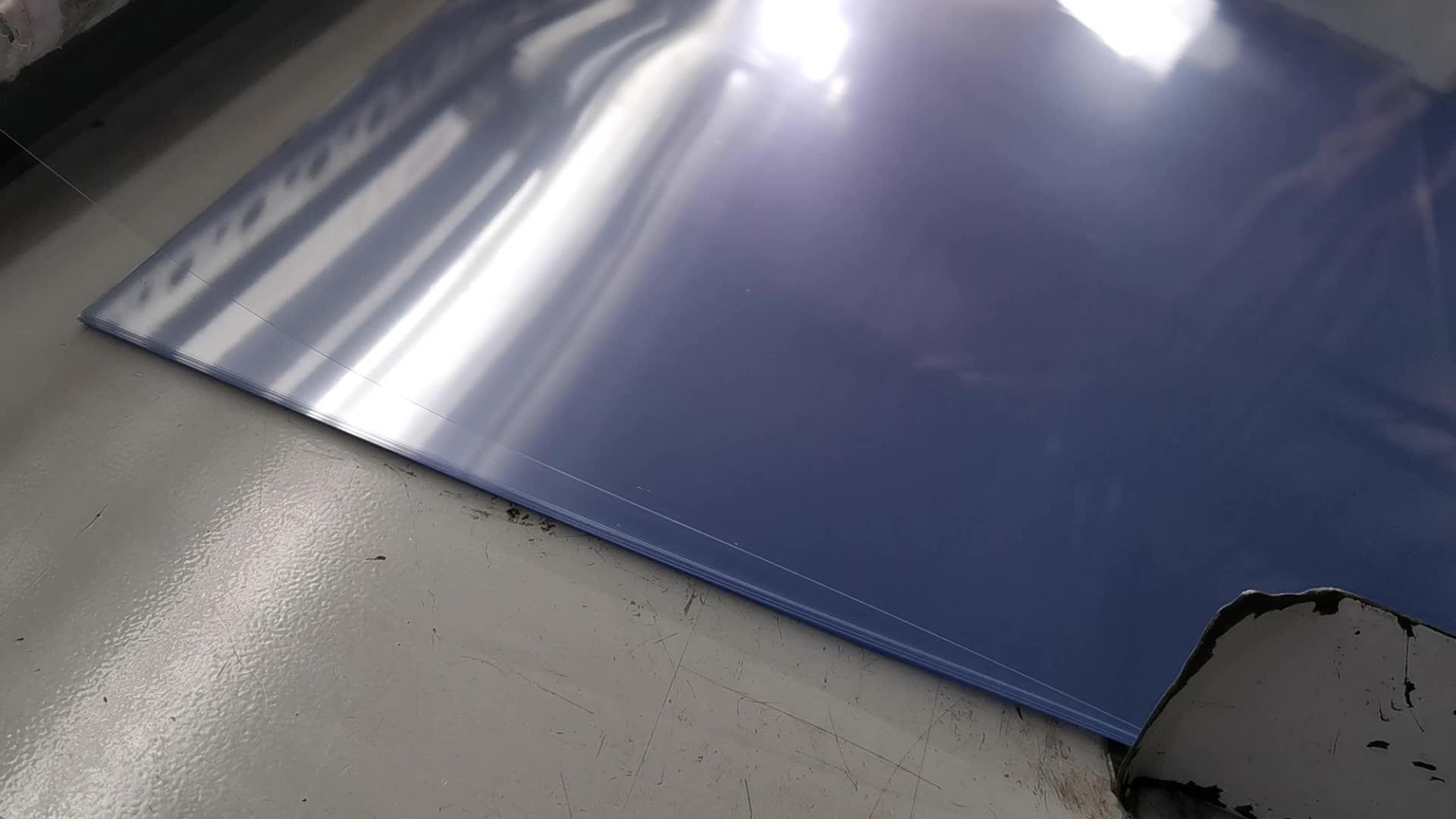 Scatola di Imballaggio di Plastica Trasparente Della Copertura di Rilegatura 200 Micron PVC Trasparente Foglio di A4