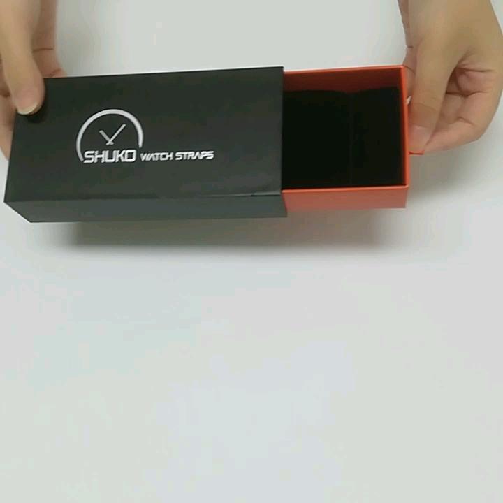 工場ファッション · 格安価格シルバースタンプ時計包装紙箱