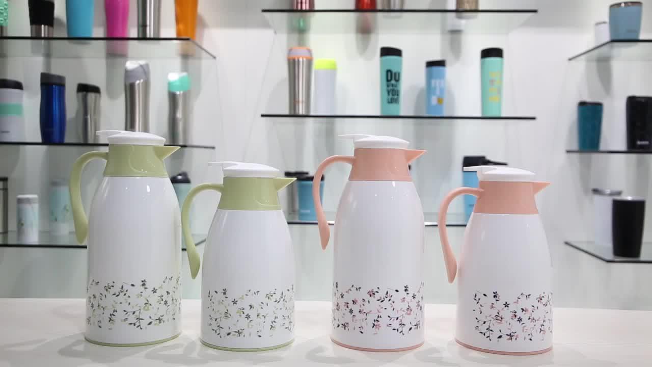 Grande volume di boccetta di vuoto di plastica arabo thermos di caffè