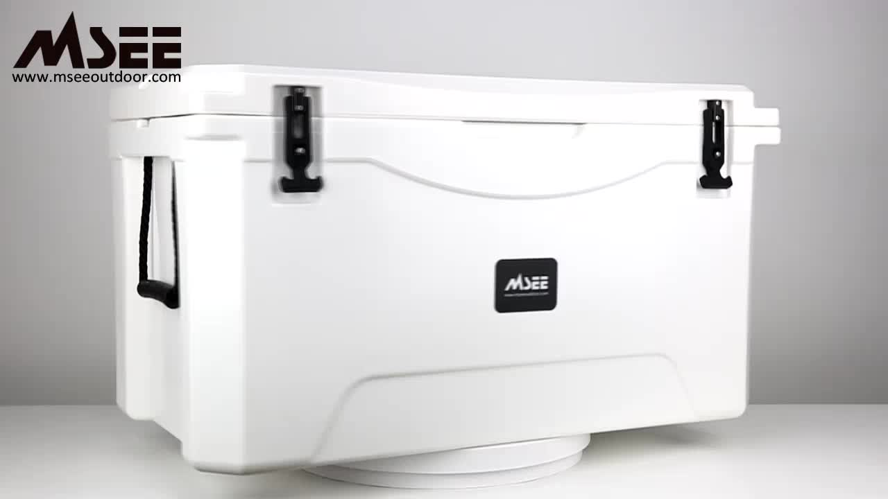 110L Promotional Eco-friendly large rotomolded cooler box