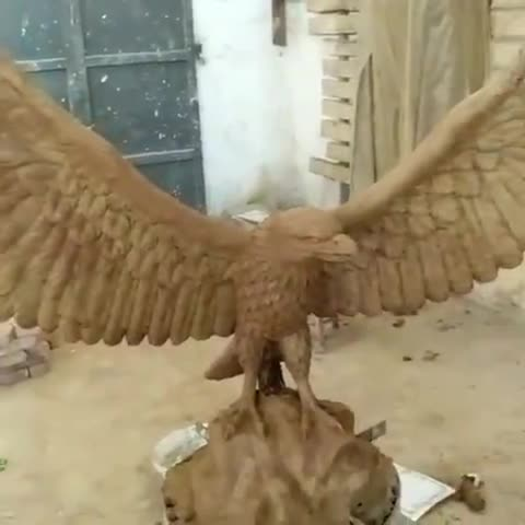 Large Wildlife Sculpture casting outdoor garden decor bronze eagle statue for sale NT--BS264A