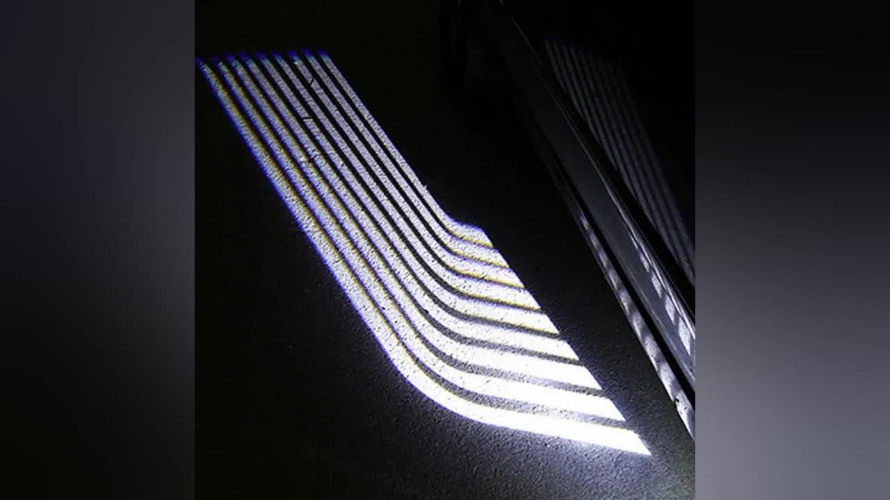 Welcome Ghost Shadow Angel Wing Courtesy Projector Light LED Welcome Light Carpet Kit LED Floor Project Illumination Kit