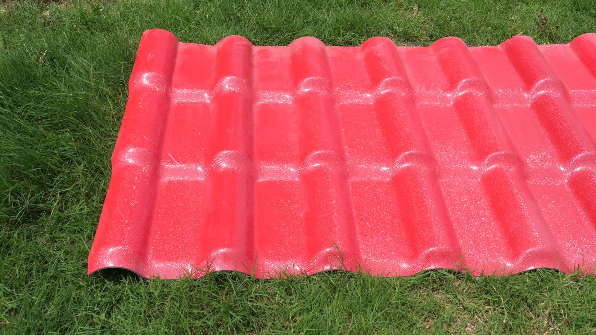 TOP ridge Factory directly Synthetic resin material PVC Roof Sheet