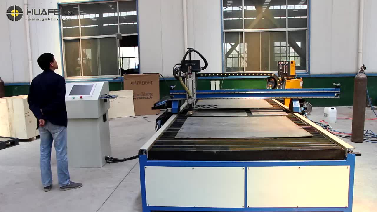 Durable Quality Table Type CNC Cutting Machine Table Type Flame Plasma Cutter