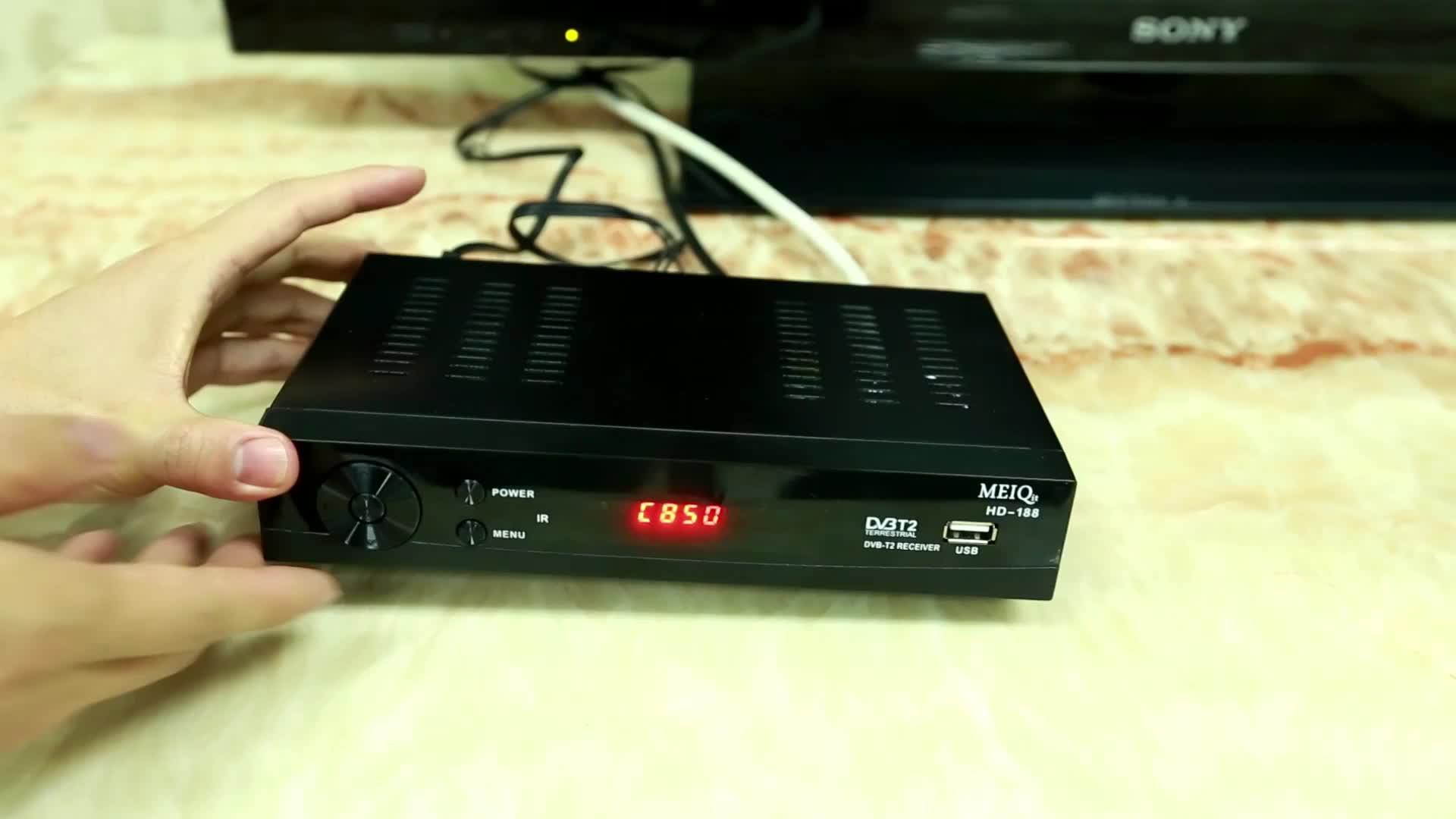 Высокое качество цифровой ТВ Декодер 1080P Full HD Dvb T2 приемник