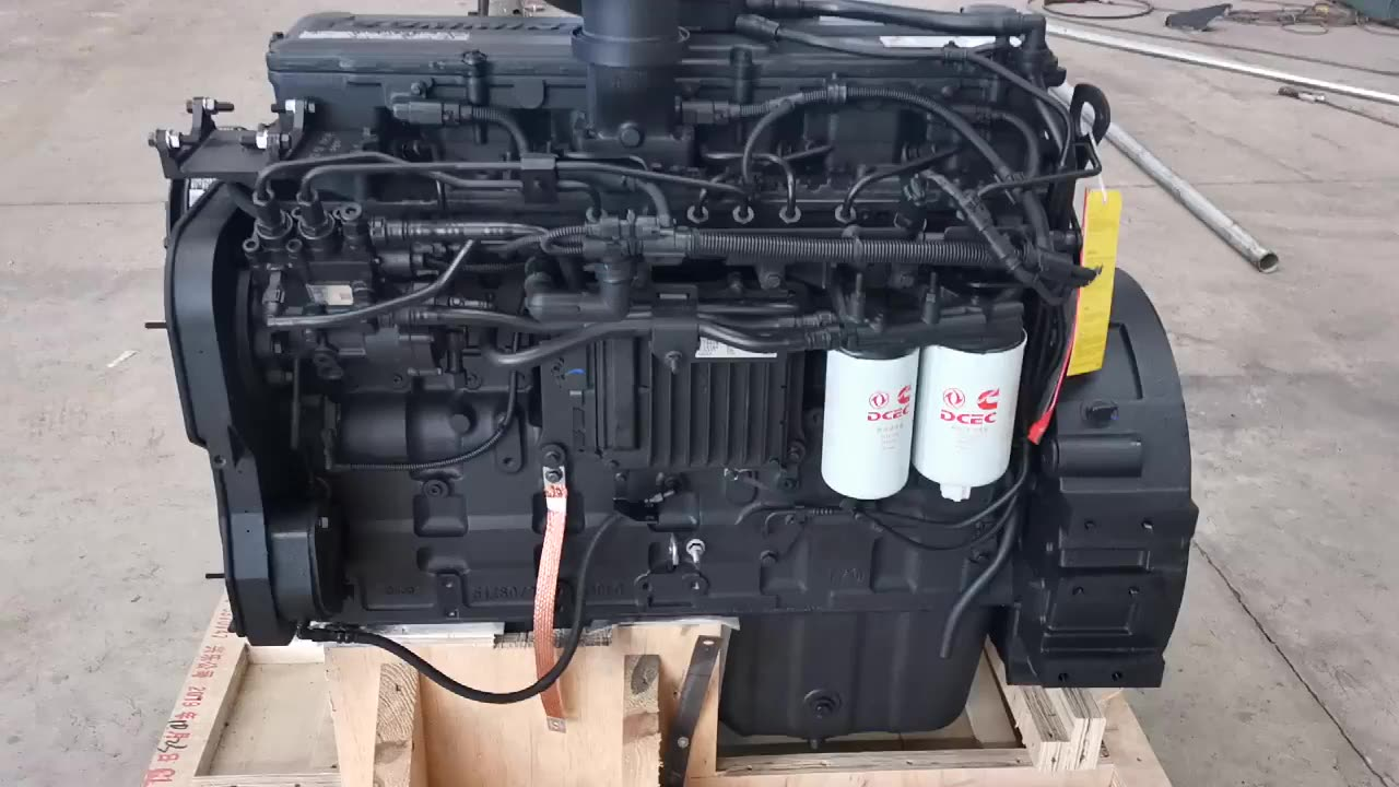 Brand new Water-cooled 6 cylinders turbo  diesel engine  for construction machine