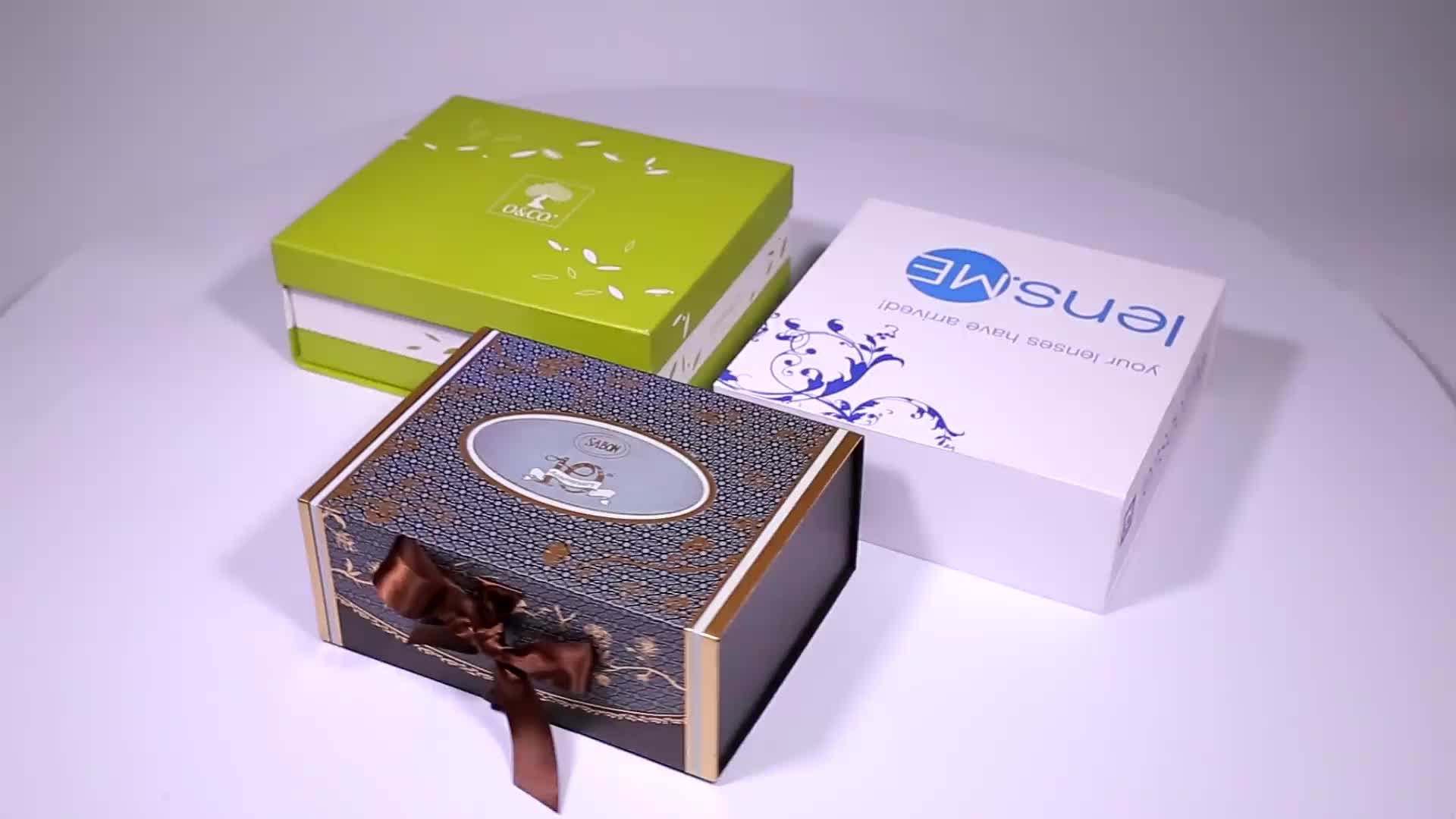 Handmade Logo Customized Magnetic Lid Storage Box Gift Box With Magnet Closure Magnet Lid Storage Box