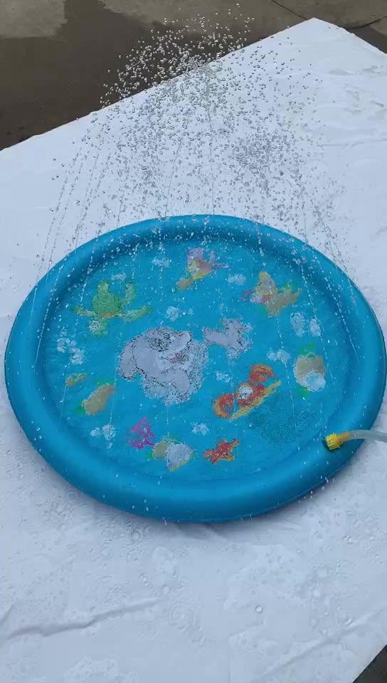 All'aperto giocattoli gonfiabili acqua sprinkler e splash piscina per bambini gioco pad mat estate giocattoli divertenti per i bambini