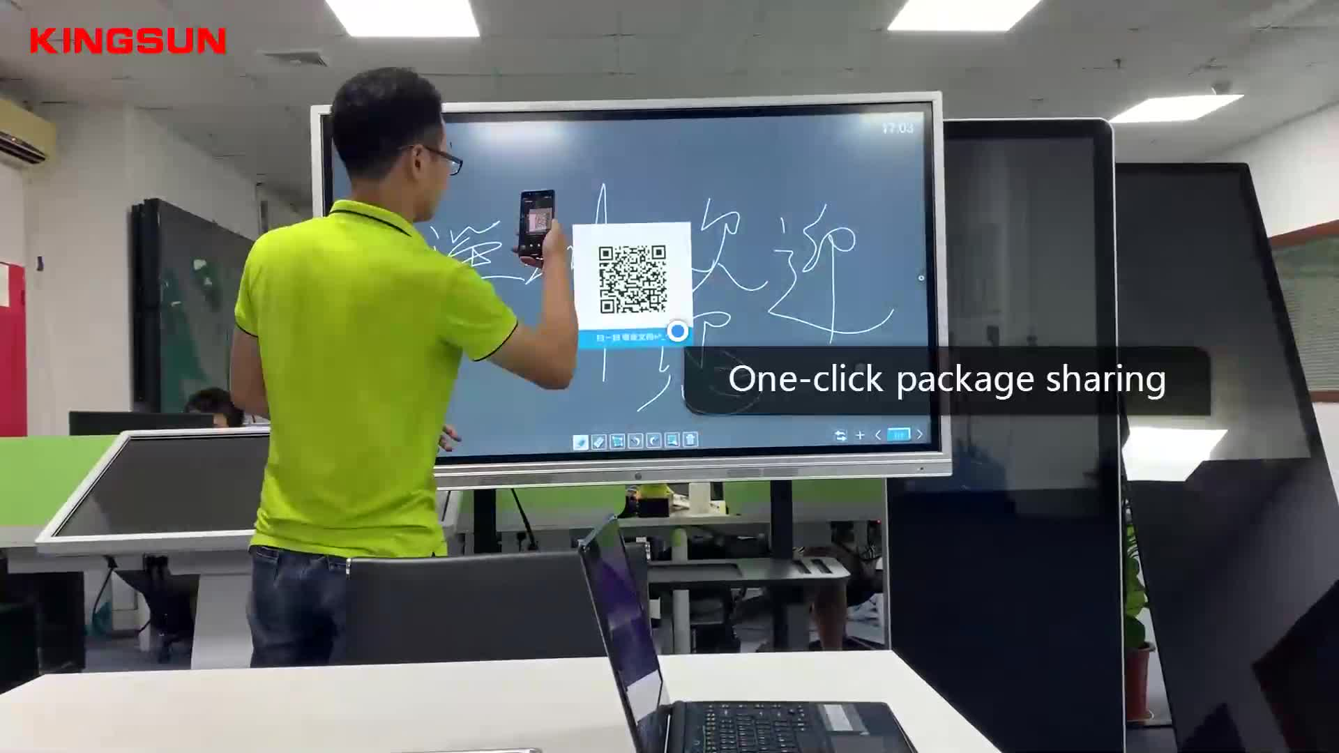 Pizarra Interactiva de alta calidad 86 tablero inteligente en pulgadas