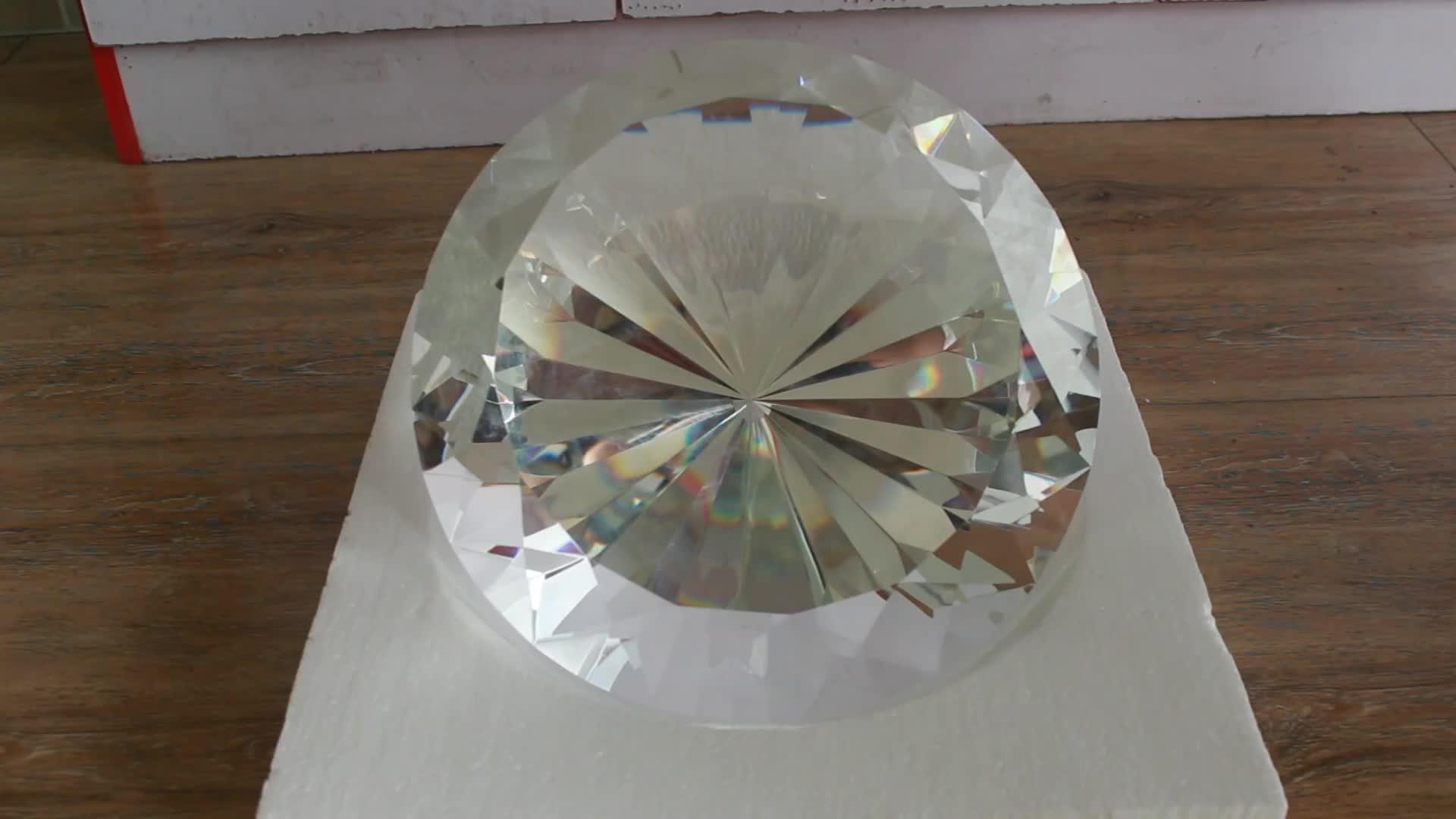 Luxe Hal Decoratie Big Size 300mm Diameter Kristal Diamant