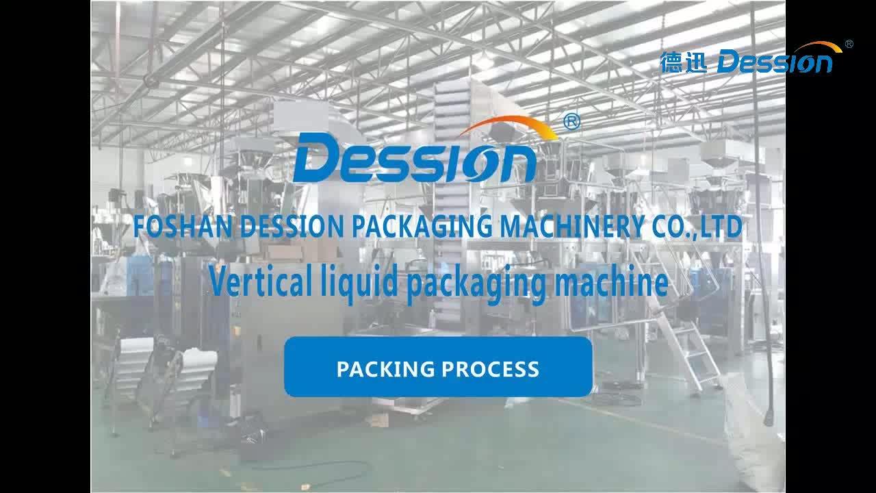 Automatische 100 200 500 1000g Joghurt Verpackung Maschine