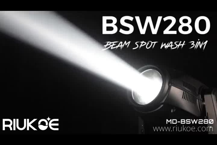 ODM/OEM pointe sharpy beam light hybrid BSW 280w 10r 3in1 beam moving head light