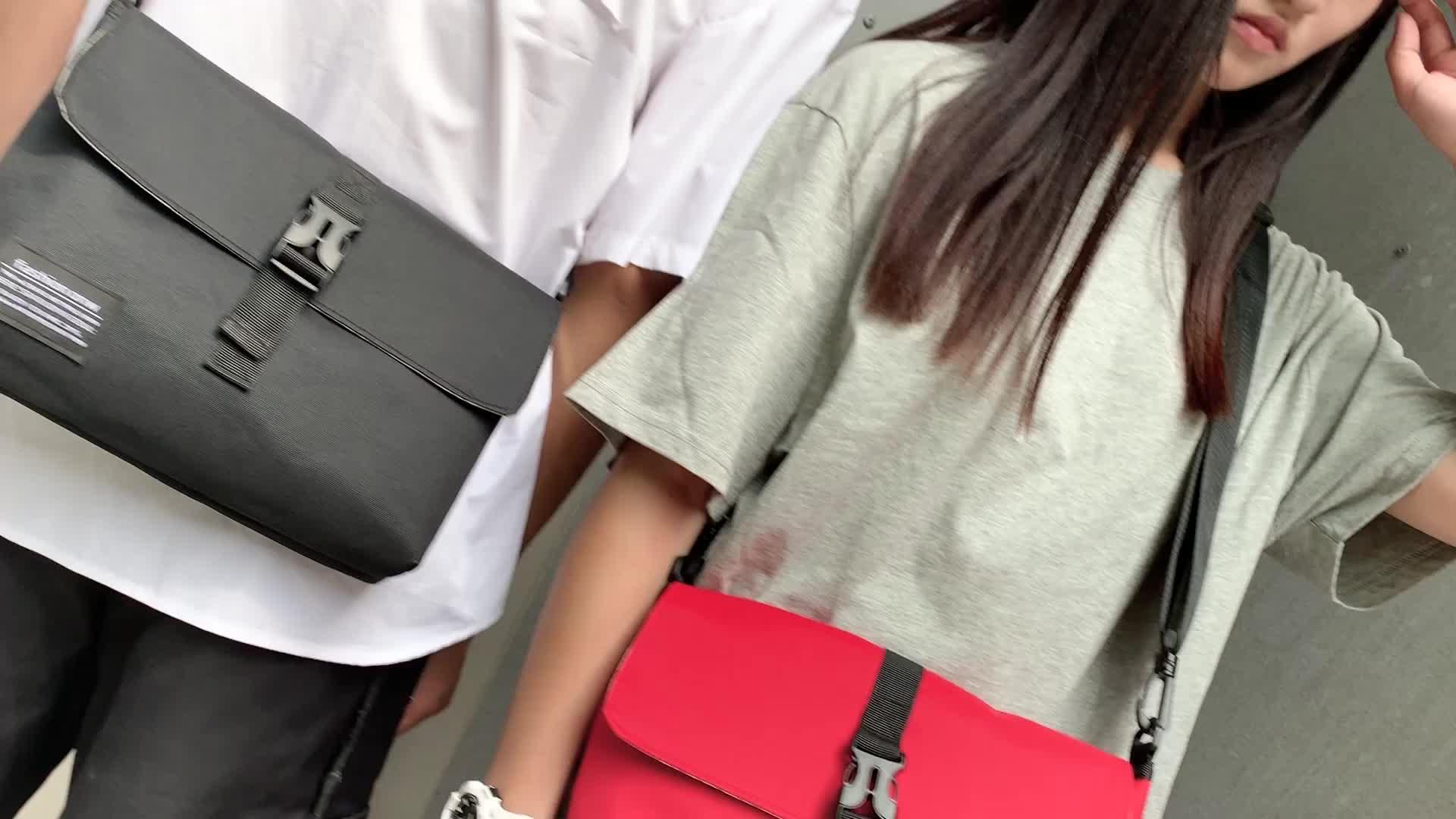 Fashion Waterproof Oxford Women Men Sling Shoulder bag Sport Crossbody Small Messenger Bags
