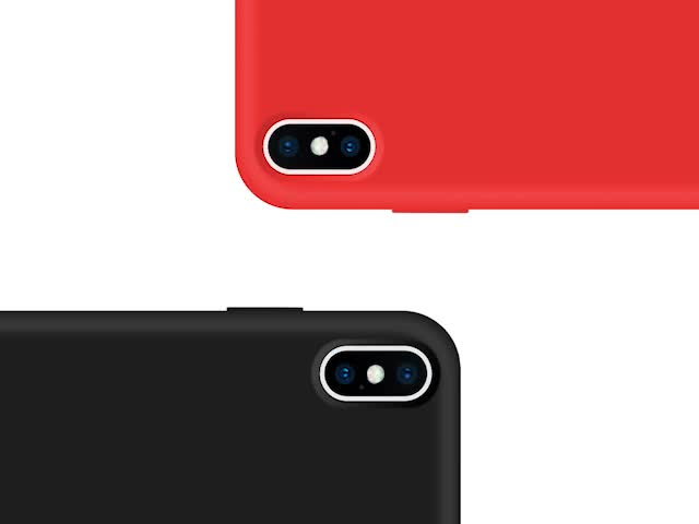 High Quality Real Liquid Silicone Cell Phone Cover For iPhone X Case