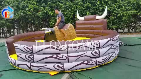 Elong High Quality Inflatable Mechanical camel Riding Machine on sale