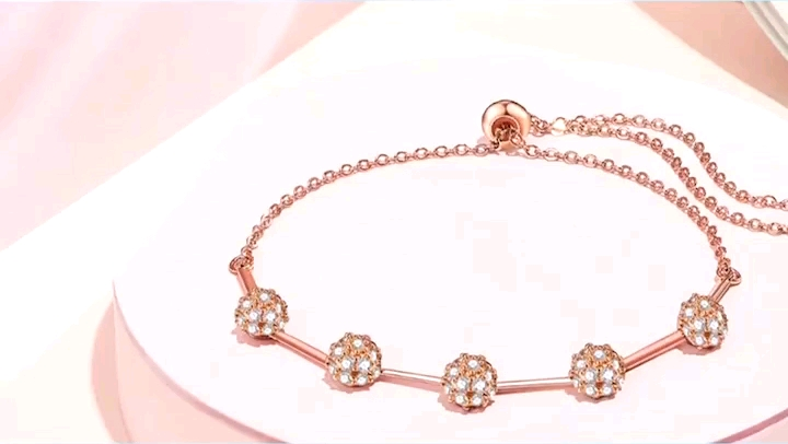 75795 Xuping custom crystal bracelet, 18k gold plated women bracelet with colorful stone
