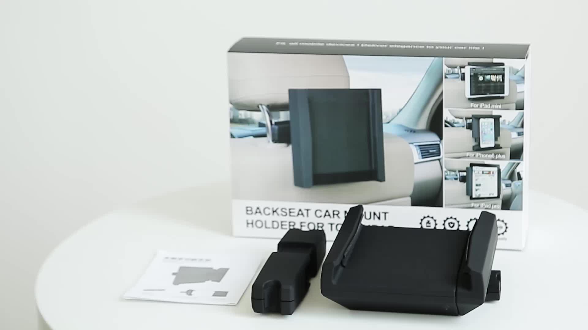 Joyart אוטומטי אביזרי Tablet מחזיק מעמד לרכב טלפון הר