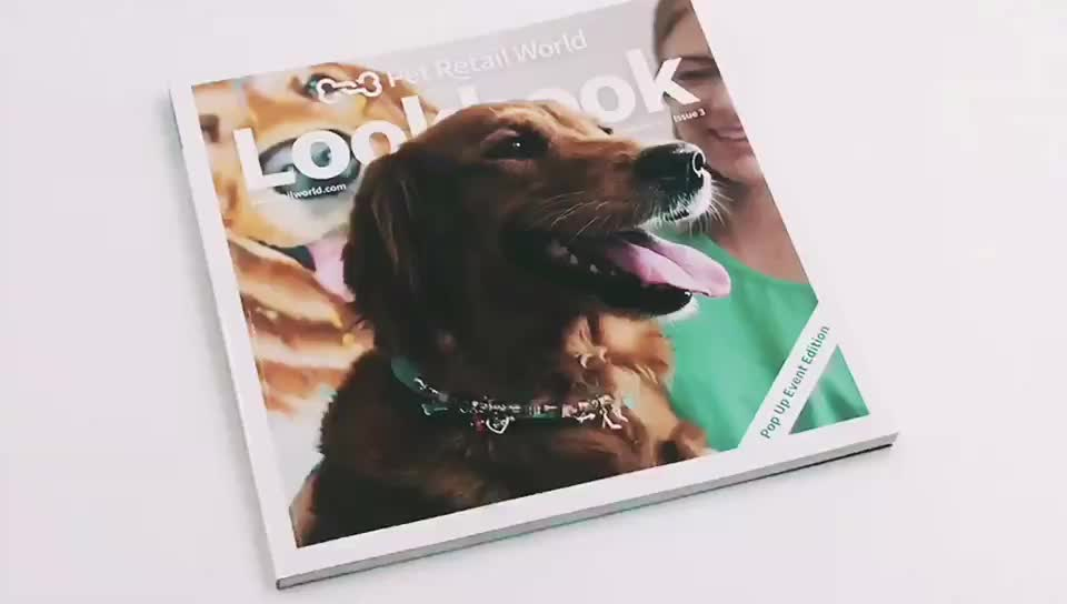 Custom softcover bookprinting professional coloring printing service
