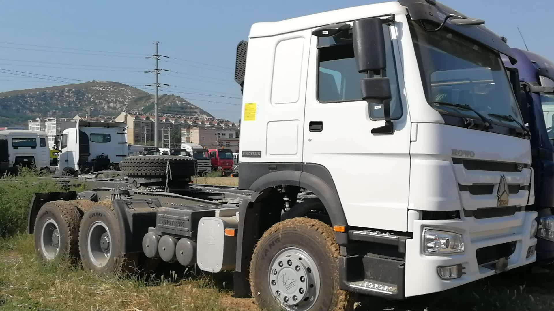 Sinotruck 6x4 10 Wheeler 371hp Howo Truck For Tanzania