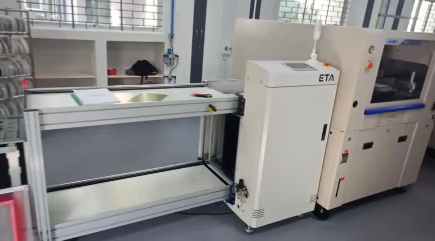 Low Cost S18 Small PCB SMT Production Machine Line,Automatic LED SMD Assembly Equipment Manufacturer