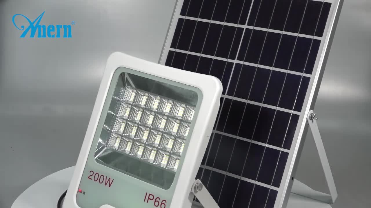 Waterproof outdoor 50w 100w 150w garden solar light