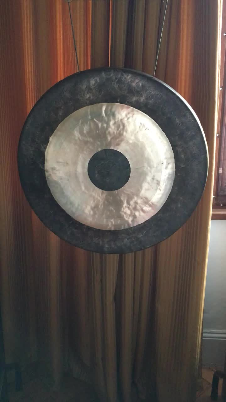40 inch 100cm handmade antique chau gong therapy