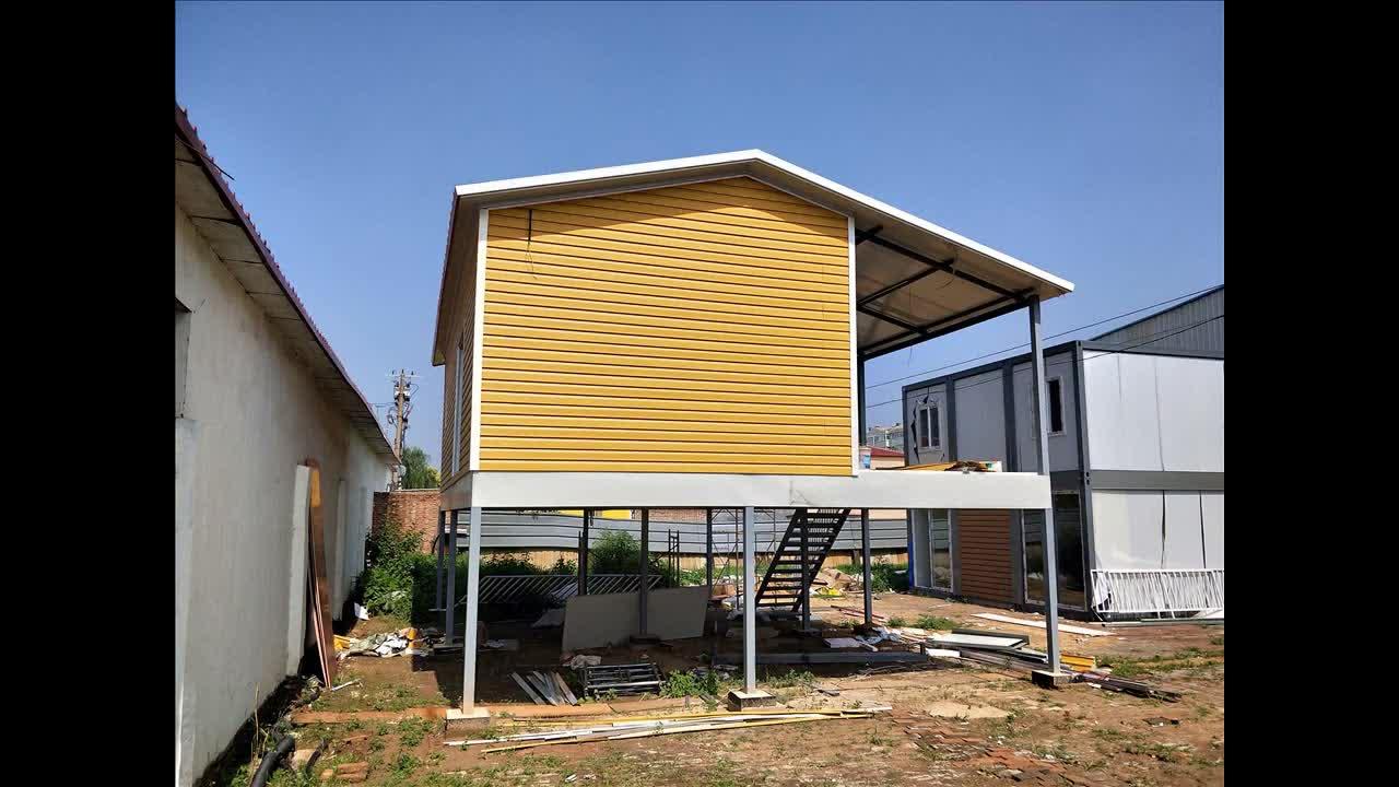 Bajo Precio De Paquete Plano Casa Prefabricada Módulos Construcción Lujo Marco De Acero Una O Dos Plantas 5 Dormitorios Villa Proveedor En China Buy