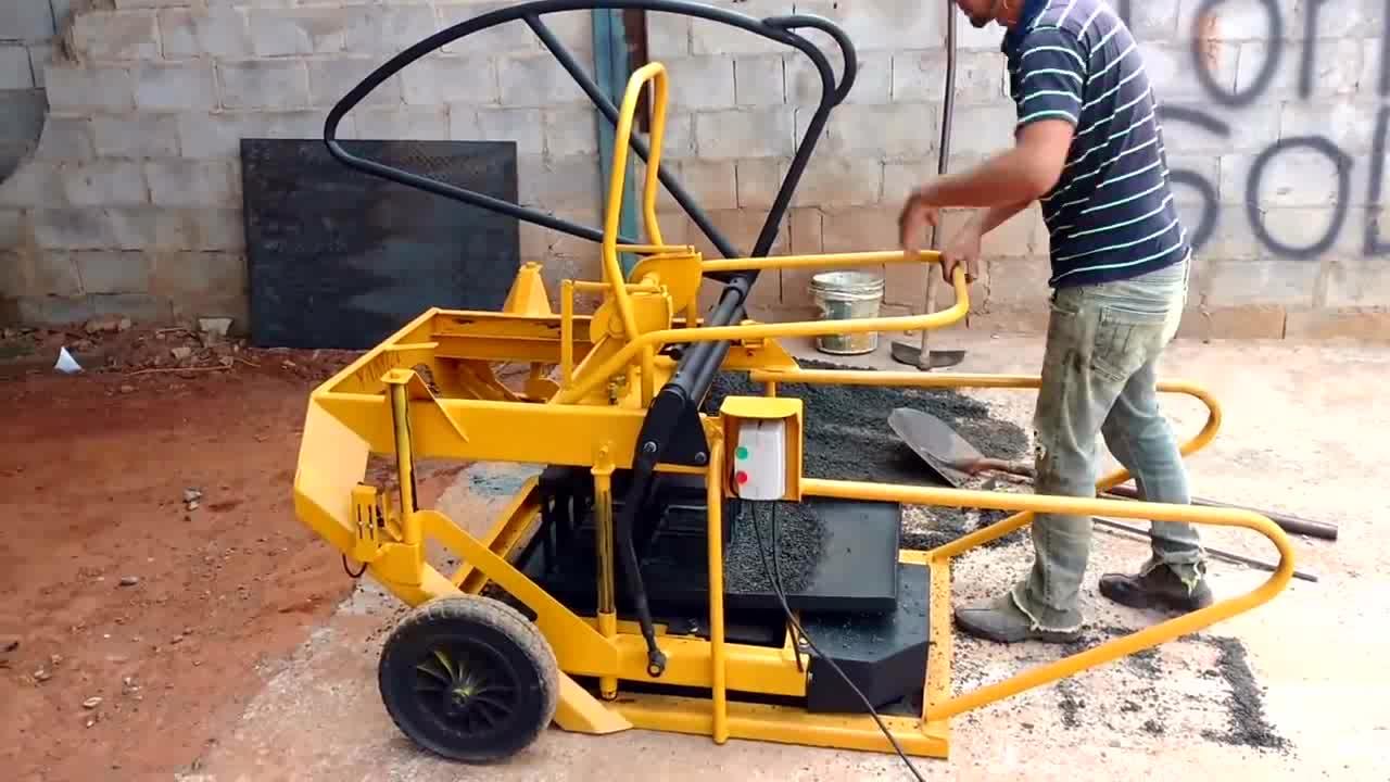 Kualitas tinggi mesin bata Beton Berongga blok membuat mesin untuk dijual
