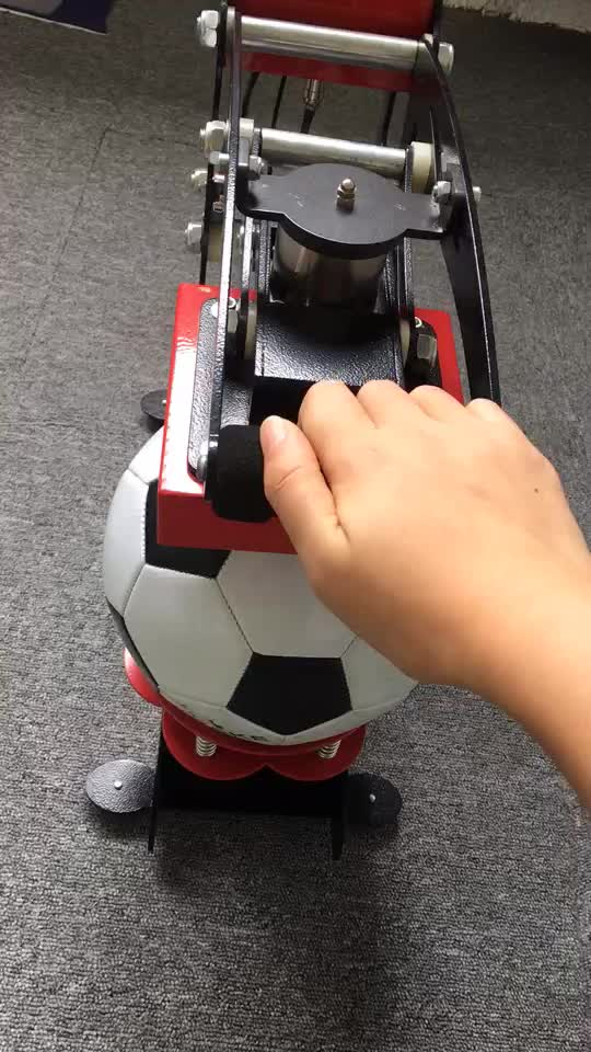 Super Quality Semi Auto Manual LOGO Ball Hot Press Machine For Sublimation Soccer Ball With Logo