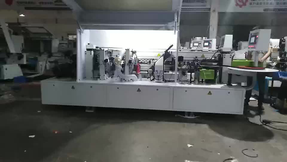 MFZ602 Automatic PVC Edgebanders Edging Banding Machine for wood