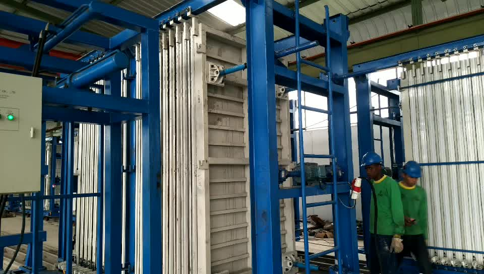 building equipment precast concrete wall panel making machine