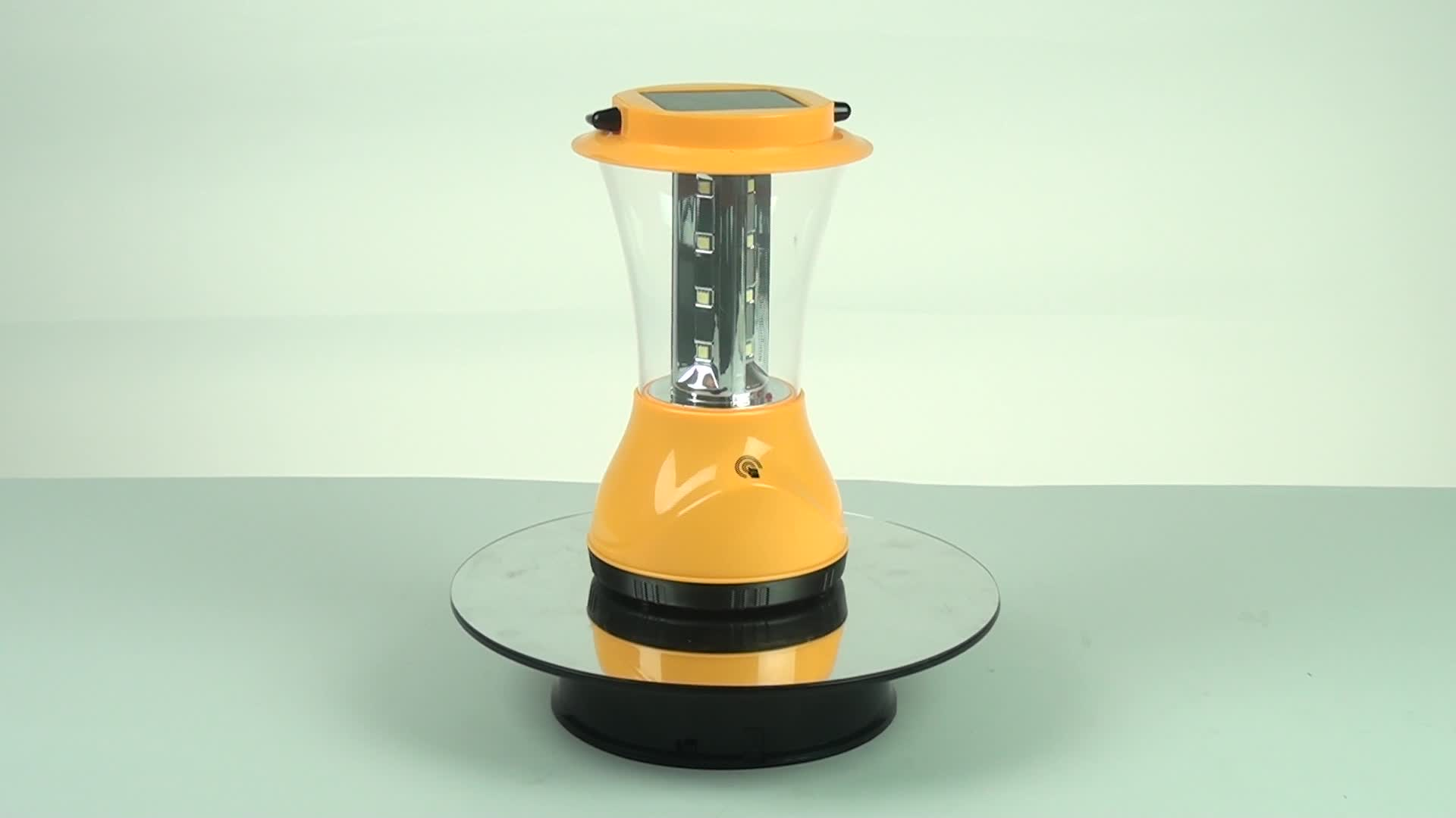 Solar led lantern camping lights rechargeable outdoor lantern
