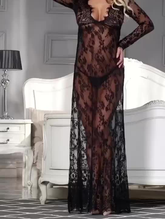 Newest Mature Women See Through Lace Sexy Babydoll Lingerie Tube - Buy Sexy Babydoll -7065