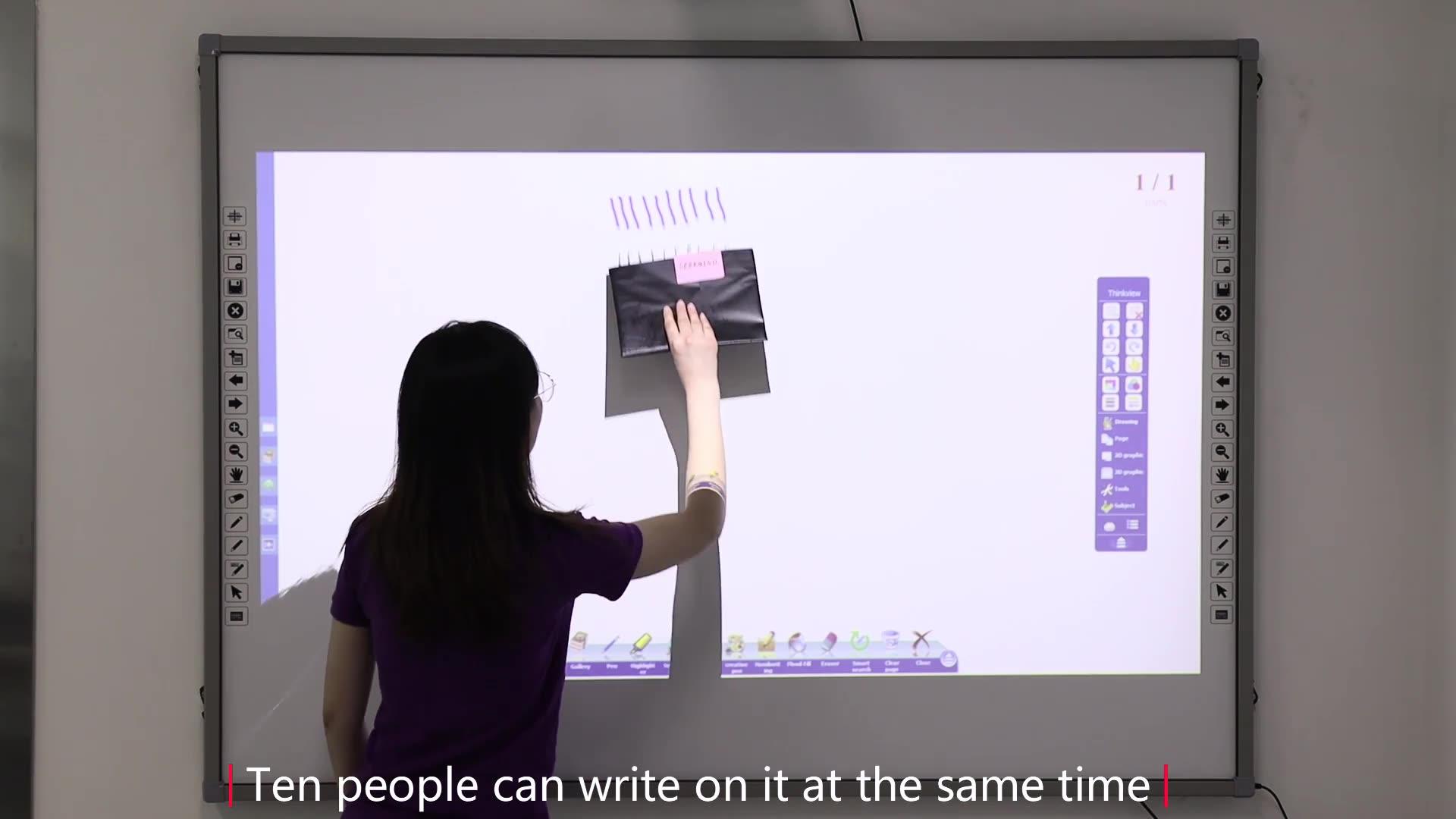 Rohs Chứng Nhận Smartboard/Tương Tác Bảng Điện Tử Với Giá Nhà Máy Để Bán