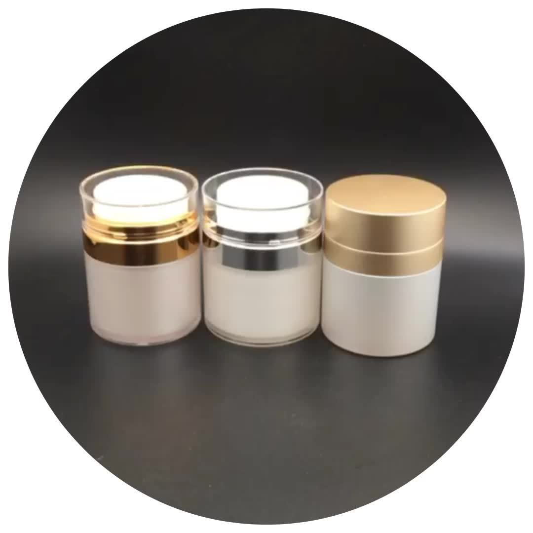 manufacture durable plastic cosmetic serum jar packaging for personal care lotion foundation