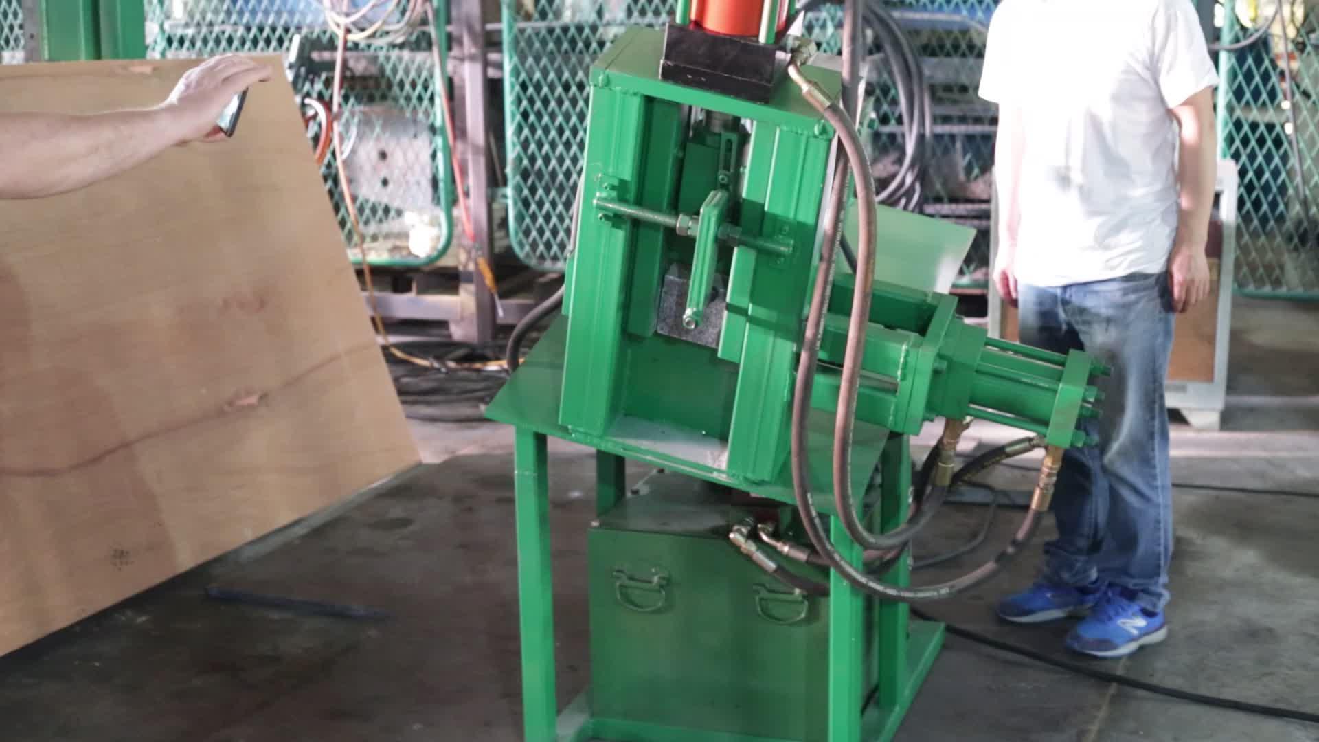 cubic stone brick splitting machine