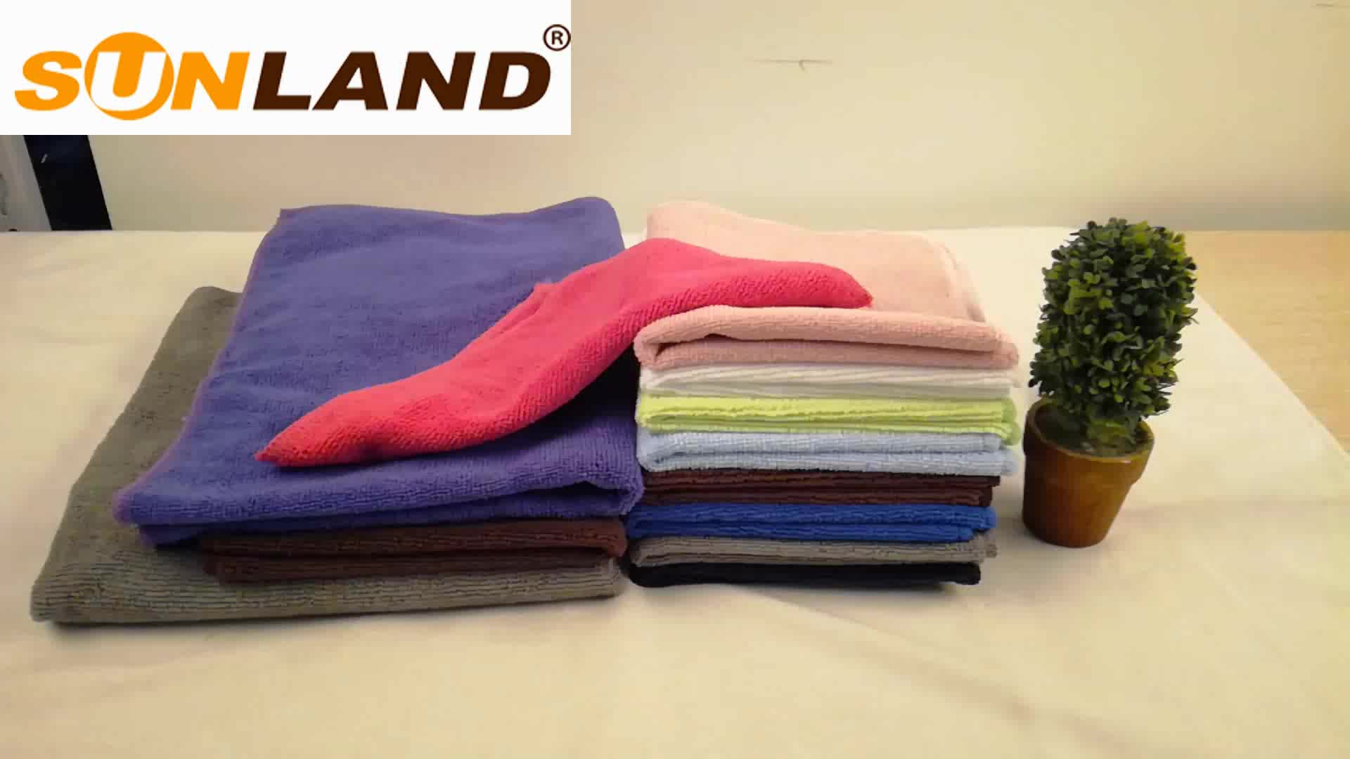 Sunland multi-purpose water absorbent household cleaning cloth/towels