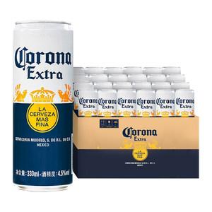 墨西哥原瓶进口 科罗娜 精酿特级小麦啤酒 330ml*12罐 主图