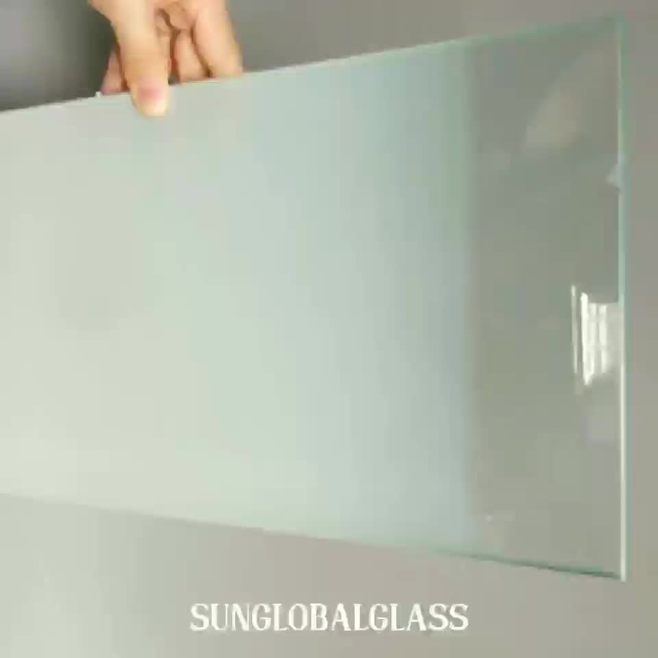 Decorative 6.38mm 8.38mm 10.38mm 12.38mm frosted acid etched laminated glass exporter