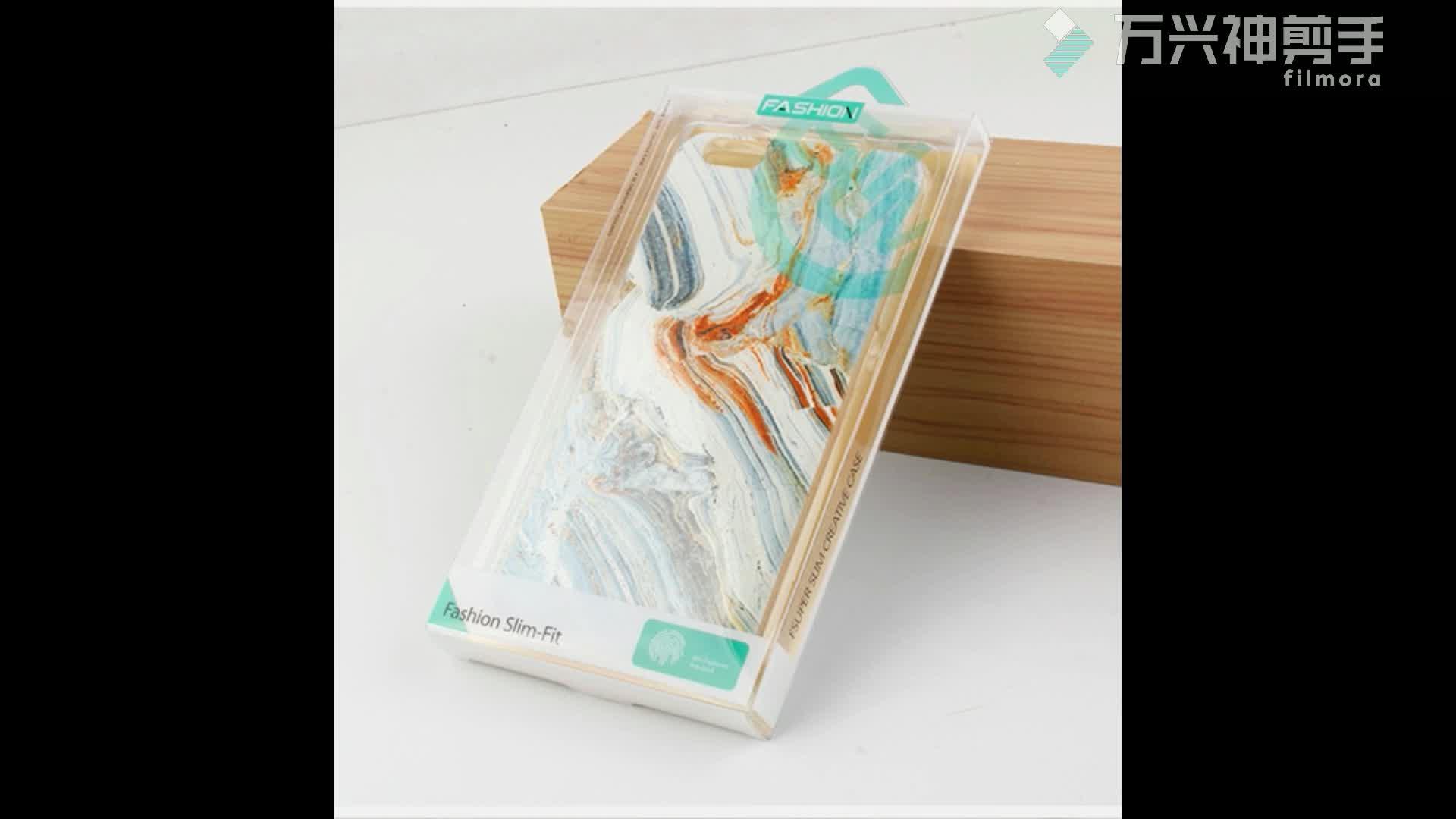 Özel EVA temperli cam ekran koruyucu film ambalaj kağıdı koruyucu kutusu iphone/ipad için