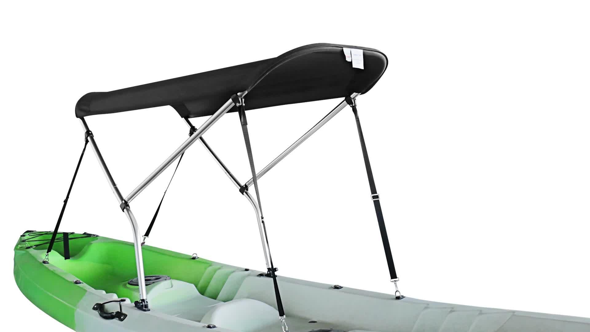 SGS Certificated 600D Solution Dyed kayak boat accessories kayak bimini top