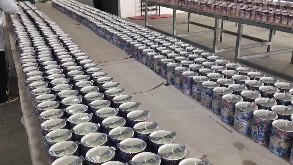 Hoge Kwaliteit Factory Supply Custom Kleur Decal Logo Unieke Keramische Kaars Pot Met Deksels