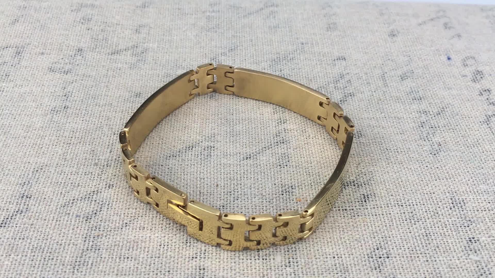ステンレス鋼メンズ腕時計チェーンチェーンリンクブレスレット