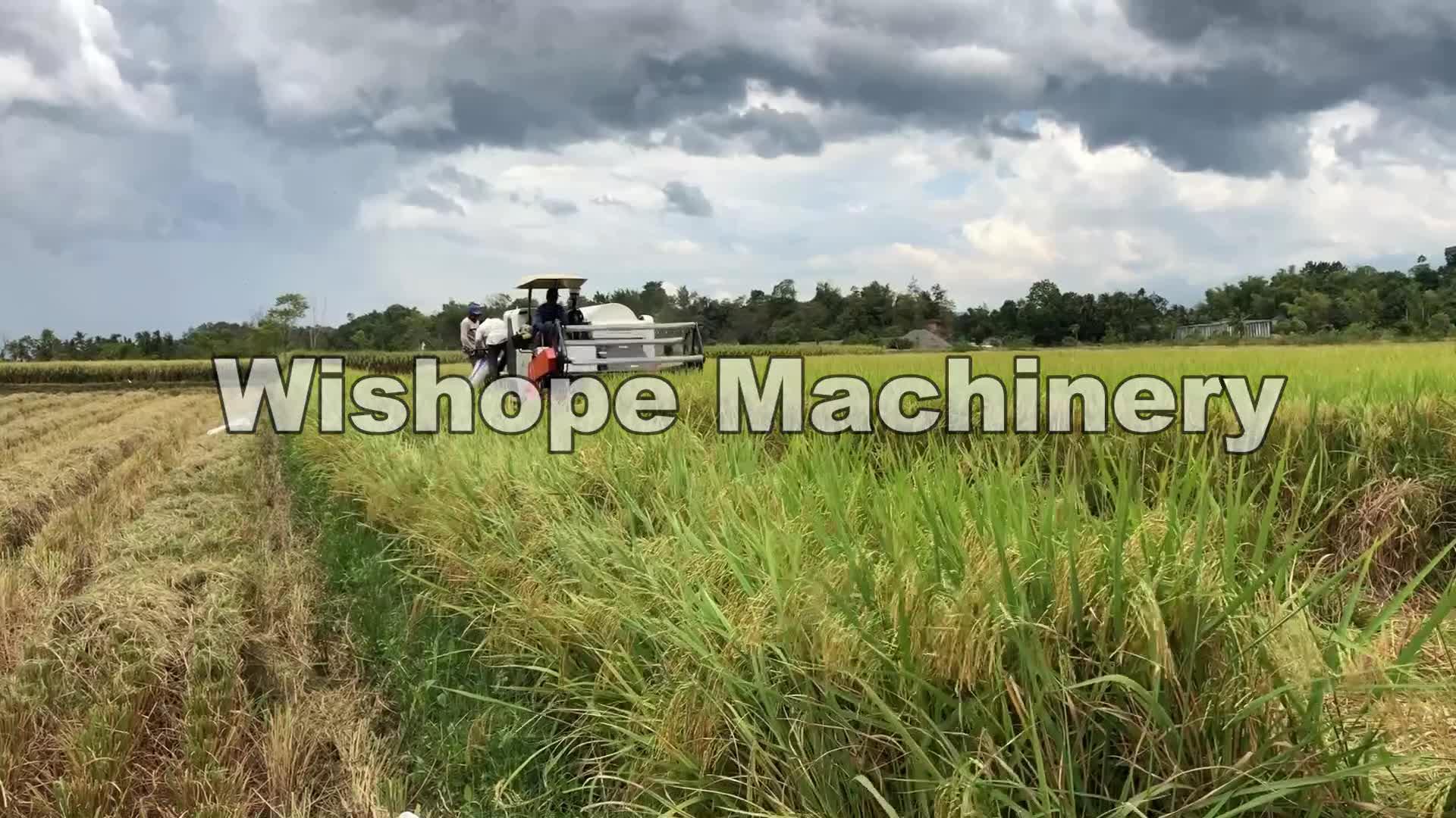 Kubota Type DC70 DC60 4LZ-4.5 Rice Combine Harvester For Sale