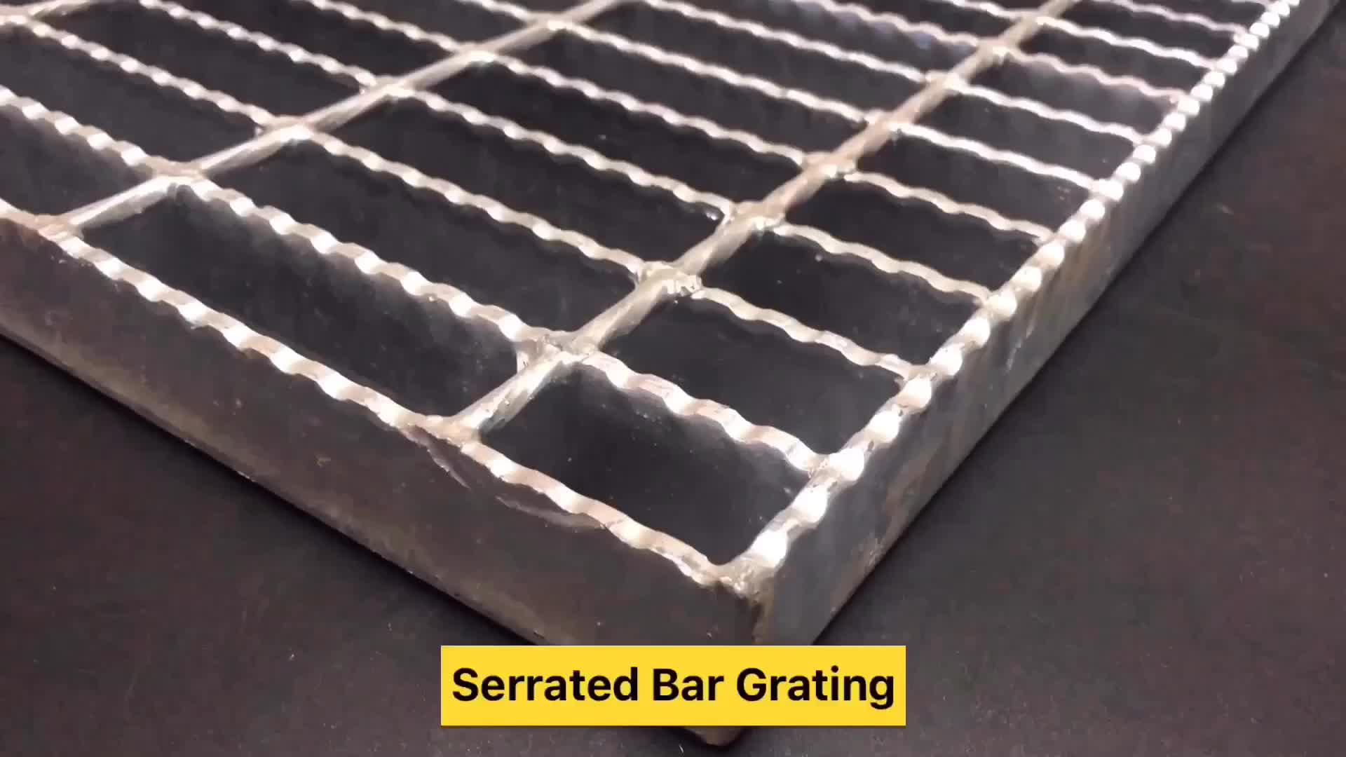 Plain/Serrated Type Stainless Floor Bar Steel Grating Plate