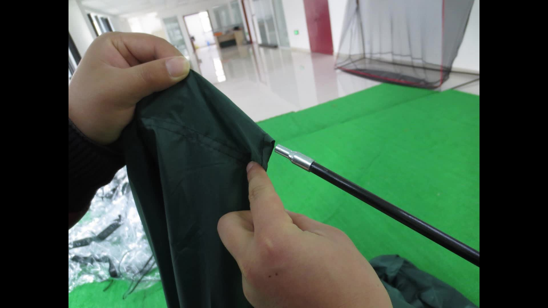 Heavy Duty, Ruimtebesparend Outdoor Opslag Werpen Tent