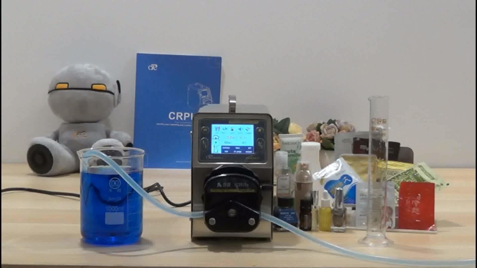 LCD display micro peristaltic pumps/chemical dosing pump Laboratory peristaltic pump