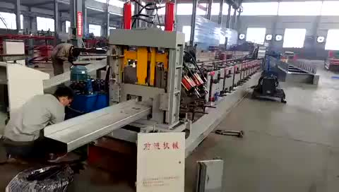 Automatic metal c purlin steel cold roll forming machine prices