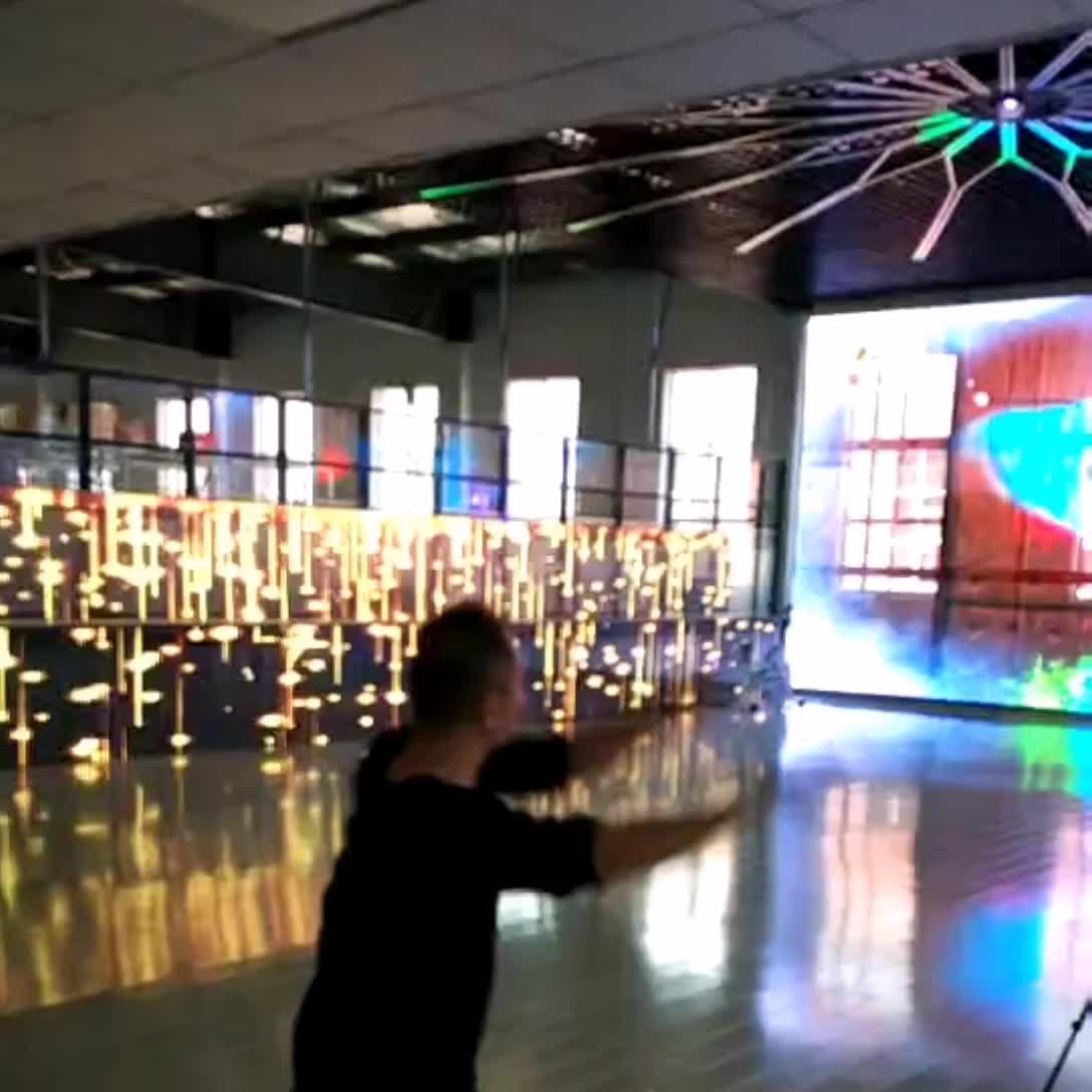 P25 * 31.25 DIP347 See-through Goedkope Prijs Gevel Gordijn LED Mesh Video Wall